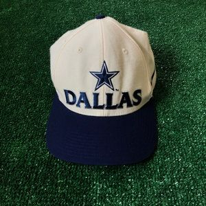 Vintage 90s Dallas Cowboys Hat